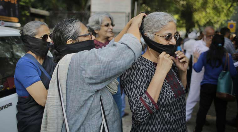 sahitya Akademi, sahitya akademi writers, writers protest, writers protest in delhi akademi writers protest, sahitya akademi writers protest, delhi writers protest, india writers protest, india intolerance, intolerance in India, India News, delhi News