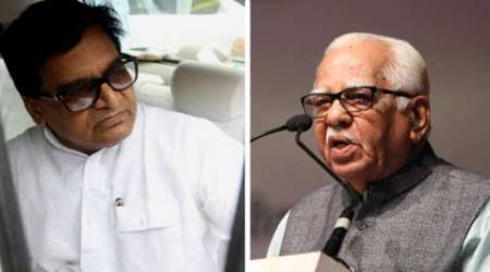 SP, Samajwadi Party, Ram Naik, UP governor, Ram Naik RSS, UP governor RSS, SP Ram Gopal Yadav, Uttar Pradesh news, India News