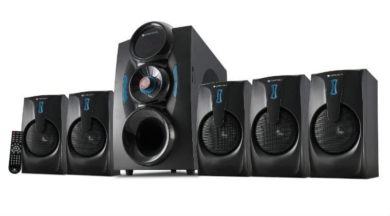 Zebronics, speakers, Zebronic speakers, 5.1 channel speakers, ZEB–SW9451RUCF price, ZEB–SW9451RUCF specs, ZEB–SW9451RUCF features, Zebronic speaker price, Zebronic speaker specs, Zebronic speakers features,