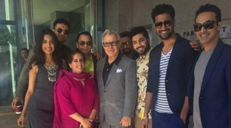 Team 'Zubaan' meets Harvey Keitel at Busan film festival
