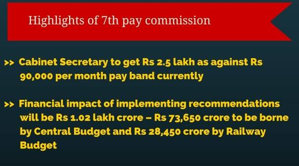 7th pay commission, seventh pay commission report, new pay commission report, 7th pay commission recommendation, pay commission suggestions, pay commission report 2015, 2016 pay commission report, arun jaitley, finance ministry, india news, latest news, salary of governtment employee, got employee salary, latest news, top stories, govt jobs,