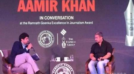 Aamir Khan On Intolerance & Delinking Religion From Terrorism – Complete Coversation At RNG Awards
