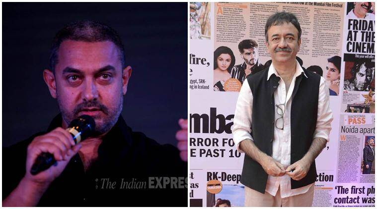 Aamir Khan, Aamir Khan RNG Awards, Aamir Khan Ramnath Goenka Awards, Aamir Khan at RNG Awards, Aamir Khan remarks on Intolerance, Aamir Khan intolerance Remarks, Rajkumar Hirani, Entertainment news