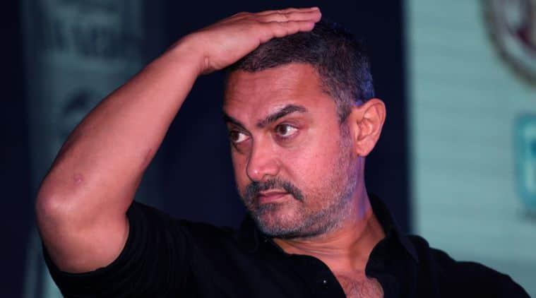 Aamir Khan   during the Ram nath Goenka Awards on 23 th Nov. 2015 Express photo by Renuka Puri.