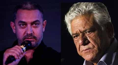 Aamir Khan, Om Puri, intolerance, Kiran Rao, Kiran Rao intolerance, Aamir intolerance, aamir on intolerance, aamir RNG awards, nation news, india news