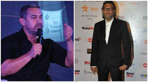 Aamir Khan, Aamir Khan RNG Awards, Aamir Khan Ramnath Goenka Awards, Aamir Khan at RNG Awards, Aamir Khan remarks on Intolerance, Aamir Khan intolerance Remarks, Rakeysh Omprakash Mehra, Entertainment news