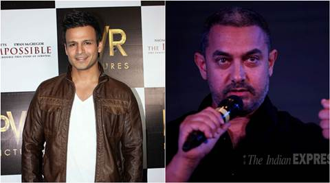 Aamir Khan, Aamir Khan Intolerance, Aamir Khan on Intolerance, Vivek Oberoi, Aamir Khan remark on intolerance, Aamir Khan remark on intolerance in India, Aamir Khan at RNG awards, Aamir Khan News, Aamir Khan latest News, Entertainment news