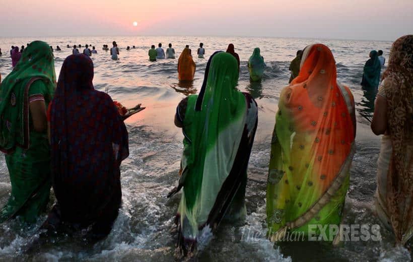 Chhat Puja, Chhat puja photos, Chhat puja festival, Chhat puja rituals, Chhat puja tradition, Chhat puja pics, Chhat puja mantras, Chhat Puja hymns, chhat puja images, Chhat puja news