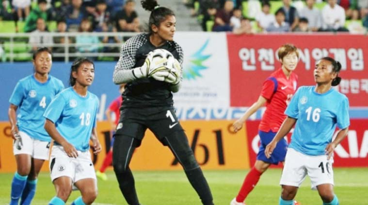 Goalkeeper Aditi Chauhan eyes return to Indian football team for Asian Games