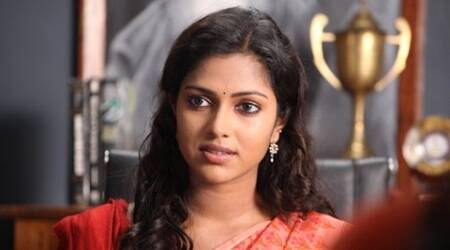 Amala Paul, Actress Amala Paul, Sarada, Sarada Film, Amala Paul Sarada, Amala Paul Sarada movie, Vishnu Manchu Sarada, Vishunu Manchi Starrer Sarada, G Karthik Reddy, Entertainment news
