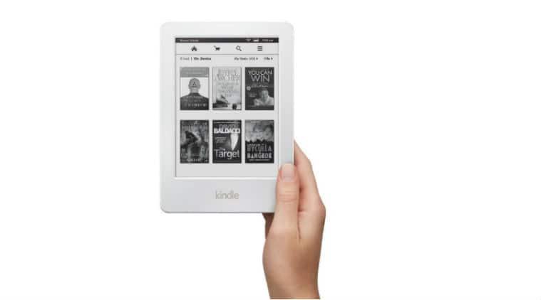 Amazon, Amazon Kindle, Amazon Kindle white, Amazon Kindle in white, white colour Amazon Kindle, white Amazon Kindle, e-Reader, technology, technology news
