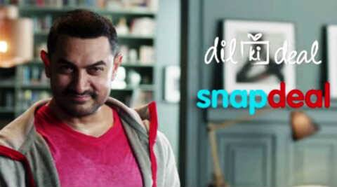 aamir khan, aamir khan snapdeal, snapdeal brand ambassador, snapdeal aamir khan, amir khan, snapdeal, bjp, aamir khan RNG awards, India news
