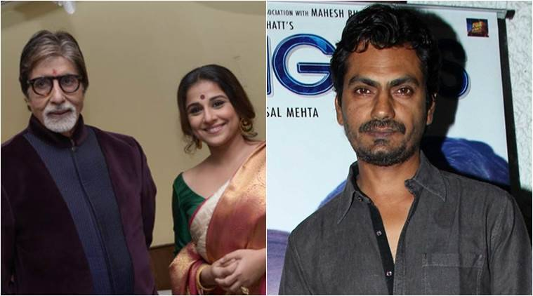 Amitabh Bachchan, Vidya Balan, Nawazuddin Siddiqui, Writers building, Sujoy Ghosh, Te3n, sujoy Ghosh's te3n, Entertainment news