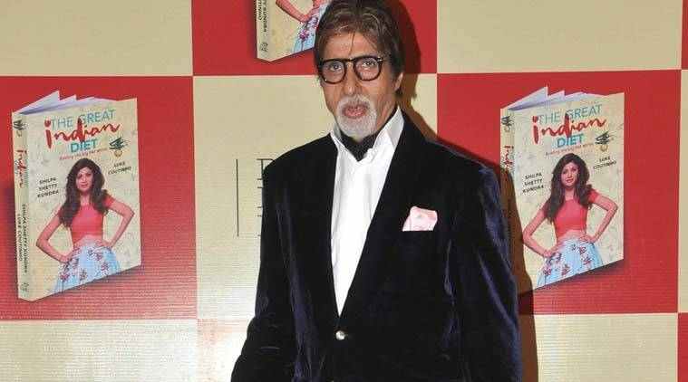 Amitabh Bachchan said he does not follow any particular routine as far as food habits are concerned.
