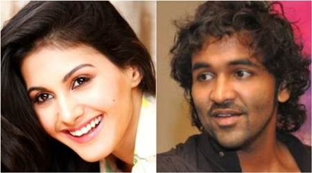 Amyra Dastur teams up with Vishnu Manchu
