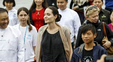 Angelina Jolie, Angelina Jolie sons, Maddox and Pax, Angelina Jolie films, Angelina Jolie upcoming film, First They Killed My Father, By the Sea, Entertainment News