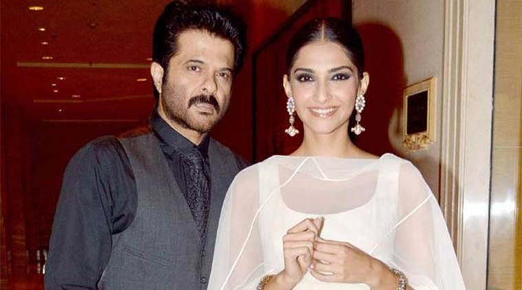 Image result for sonam and anil kapoor