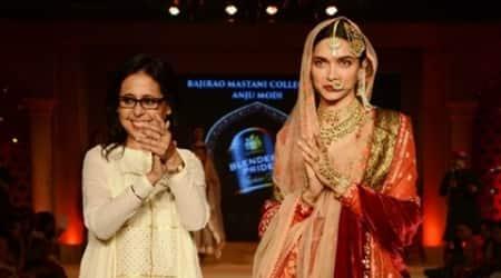 Designer Anju Modi was sceptical to do 'Bajirao Mastani' due to itsscale