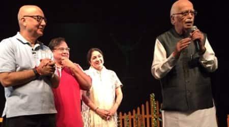 L.K. Advani, anupam kher, neena gupta, mera woh matlab nahin tha, anupam kher show, anupam kher news, L.K. Advani anupam kher, entertainment news