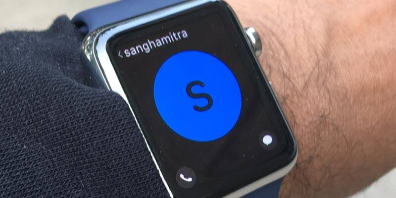 Apple Watch allows you to call, text, a feature offered by other smartwatches as well.