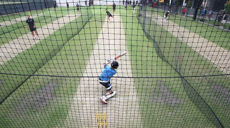 Nets session at Adelaide Oval