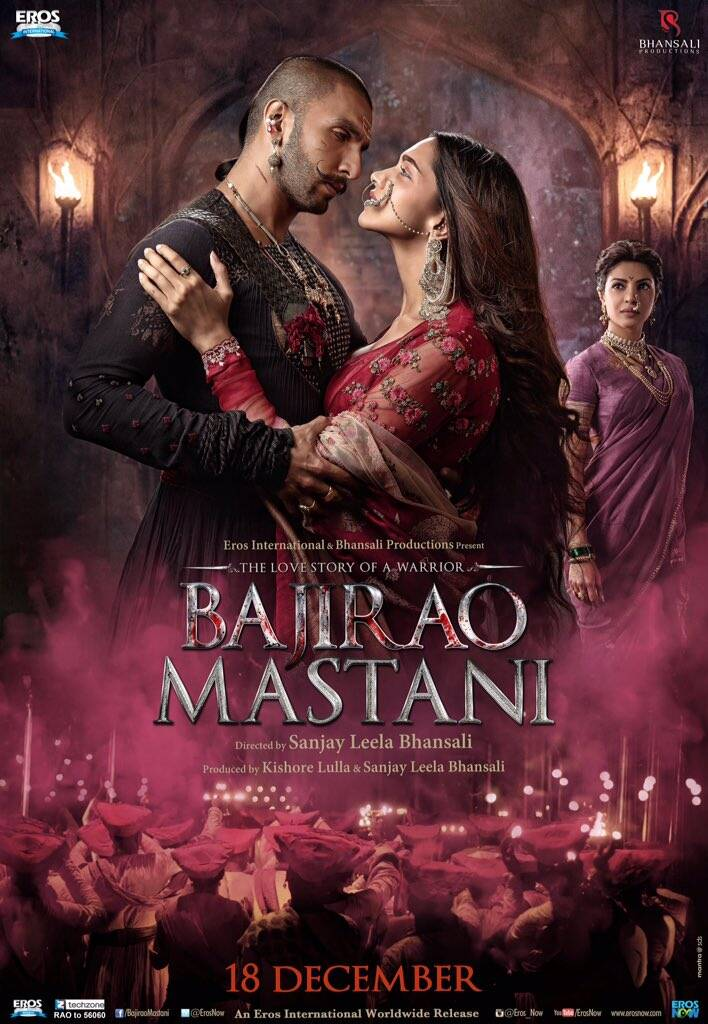 Bajirao Mastani (2015) – 720p – BluRay – Hindi – x264 – AC3 – 5.1 – Mafiaking – M2Tv ~ 1.28 GB