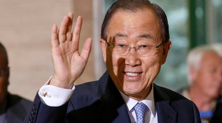 The high-level UN source told a local news agency that Ban was almost certain to meet with North Korean leader Kim Jong-Un, who has yet to receive a single head of state since taking over power following the death of his father Kim Jong-II in 2011. (Source: AP file photo)