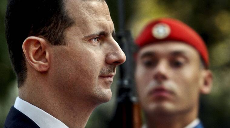 syria, bashar al assad, iran, libya, middle east, gaddafi, syrian president, syria iran relations, world news, indian express