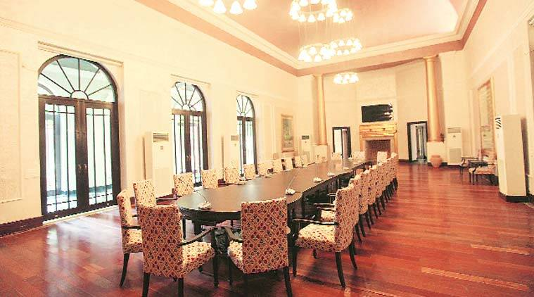 bikaner house, new bikaner house, abha narain lambha, bikaner house renovation, delhi news