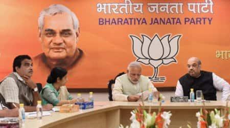 nitin gadkari, narendra modi, amit shah, bihar results, bihar election results, bihar news, india news, latest news, nitish kumar, bihar grand alliance