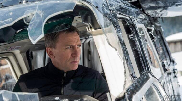 Daniel Craig in Spectre. The film will release in India on November 20.