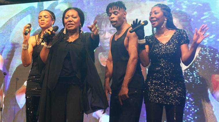 boney m, Liz Mitchell, Liz Mitchell in india, boney m in india, Liz Mitchell performance, Liz Mitchell concert, entertainment news