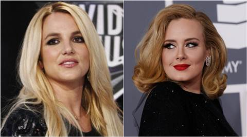 Britney Spears, Adele, Adele songs, Pop star Britney Spears, singer Adele, entertainment news