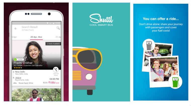 BlaBla to Shuttl: These apps will let you travel better and for low