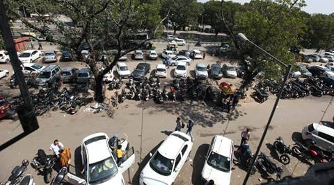 car parking, chandigarh car parking, chandigarh car parking fee, Chandigarh Municipal corporation, chandigarh news, india news