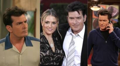 Charlie Sheen, Two and half men, hollywood