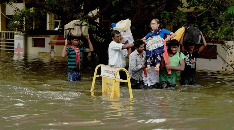 chennai, tamil nadu, chennai rains, tamil nadu rain, chennai flood, tamil nadu floods, tamil nadu depression rains, india met department, india news, latest news