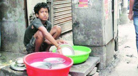 Children's day: A 13-year-old hopes to be promoted  as waiter, another as mechanic
