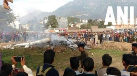 Pilot of crashed chopper cremated with full honours
