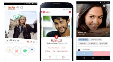 Tinder, TrulyMadly, Woo and more: Here's all about dating apps   The Indian  Express