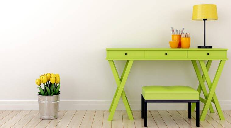 home decor tips. Paint your old furnitures in bright bold colours to give them a fresh look  Save some money These brillliant home decor tips will leave you