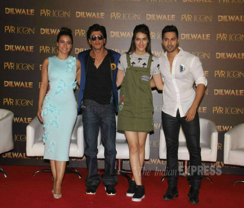 Gallery Of The Day From Dilwale Launch