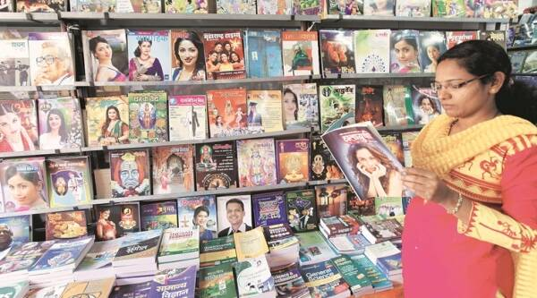 Diwali Anks: The unique feature of Diwali issues is its value as a collector's magazine. (Source: Express photo by Pavan Khengre)
