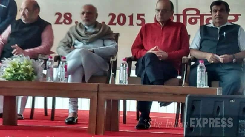 Narendra Modi, Diwali Milan, Diwali Milan Event, Amit Shah, Arun Jaitley, M Venkaiah Naidu, Diwali Milan Photos, Diwali Milan Pics, Narendra Modi Diwali Milan, Modi hosts Diwali Milan, modi hosts Luncheon Meet, Modi Hosts Luncheon for journalists, Luncheon Meet For Journalists, Narendra Modi News