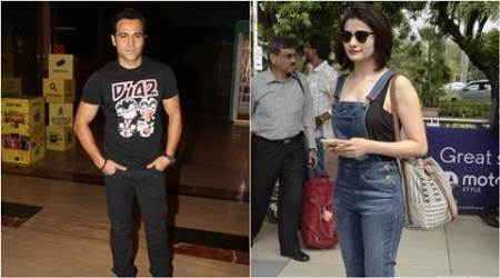 Emraan Hashmi shoots romantic song with Pracchi Desai for 'Azhar'