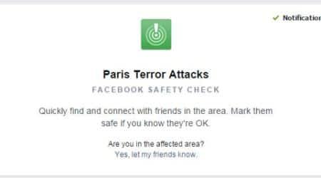 Paris Terror attack, Facebook Safety Check, Paris safety check, Paris safety, Facebook, Facebook Paris Safety Check, Safety Check on Facebook, Paris attacks, Paris terrorists, Paris death toll, Paris, Paris news, Paris latest news, technology, technology news