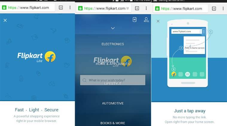 52263164d Flipkart Lite for mobile could indicate re-think of  app-only ...