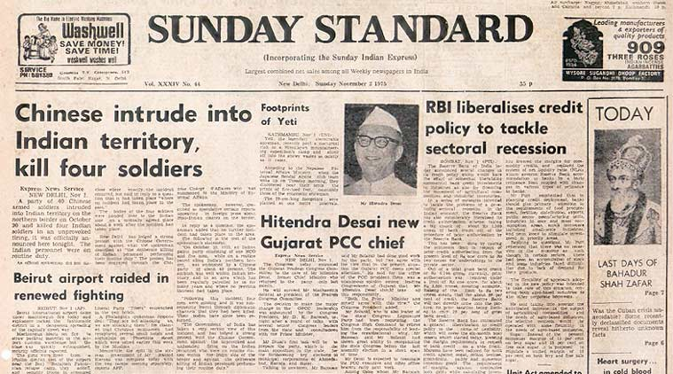 forty years ago, indian soldiers, RBI, chinese soldiers, express editorial,indian express