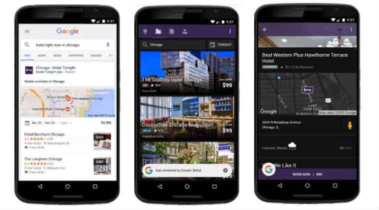 Google Search Will Now Stream App Content In Results Technology
