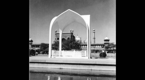 The mazar of Maulana Azad in north Delhi. (Source: Madan Mahatta)